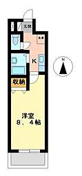 プロビデンス泉I[4階]の間取り