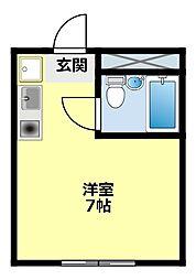 愛知県豊田市常盤町1丁目の賃貸マンションの間取り