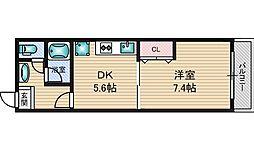 ドムス・ドイ[8階]の間取り