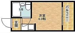 ルネッサンスエクレール[2階]の間取り