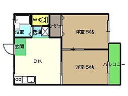 アネックスAKI[103号室]の間取り