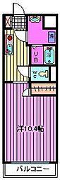 ピーノ・パラッツォ16[101号室]の間取り