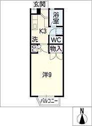 テラスグリーン[2階]の間取り