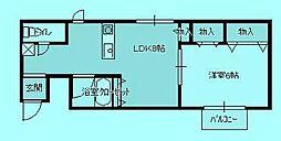 よもマンション2[3階]の間取り