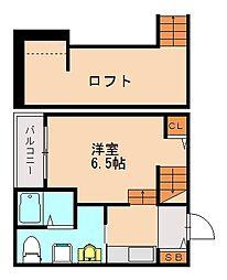 沖ハウス[2階]の間取り