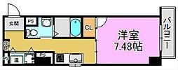 プログレスアペゼ[3階]の間取り