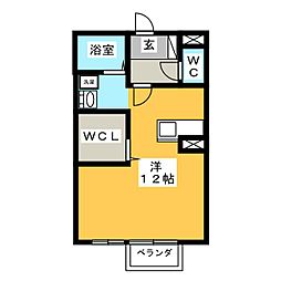 ドルチェ松阪[1階]の間取り