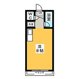 ロイヤルマンション大和町[1階]の間取り