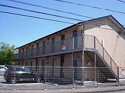 静岡県御殿場市保土沢の賃貸アパートの外観