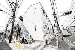 上矢部アパートメントB棟(カミヤベアパートメントBトウ)[1階]の外観