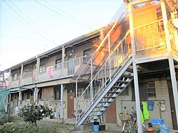 大阪府寝屋川市下神田町の賃貸アパートの外観