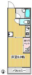 ソレイユガーデン2階Fの間取り画像
