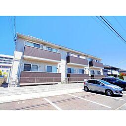 静岡県藤枝市南駿河台の賃貸アパートの外観