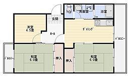 セピアコート山本[1階]の間取り