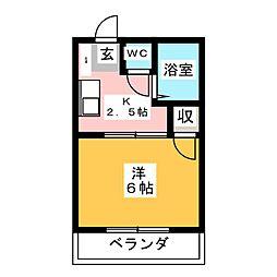 豊成センチュリーロイヤル[2階]の間取り