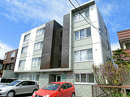 リベルタ福住[1階]の外観
