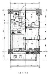 東京メトロ丸ノ内線 新宿御苑前駅 徒歩5分の賃貸マンション 7階3LDKの間取り