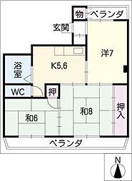 Mount.213[3階]の間取り