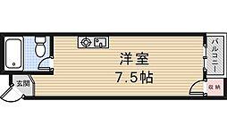 第二木田ハイツ[3階]の間取り