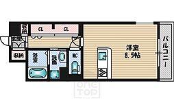 ビスタ江坂東[6階]の間取り