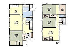 母恋南町3丁目15貸戸建 1階4SLDKの間取り