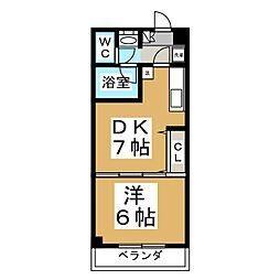 エクセルメトロII[2階]の間取り