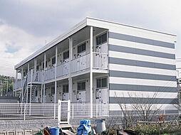 兵庫県神戸市北区山田町小部大東の賃貸アパートの外観