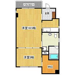 DODO HOUSE[201号室]の間取り