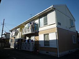 プラムハイツ[2階]の外観