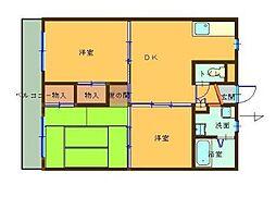 戸塚ニューハイツ(トツカニューハイツ)[1階]の間取り