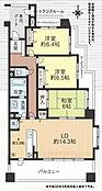 3LDK 三方角部屋の5階です