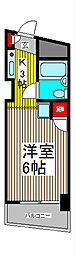 スカイコート西川口第2[4階]の間取り