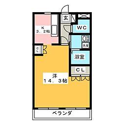 ハイムエスポワール[2階]の間取り