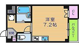 フェリーチェ鶴ヶ丘[4階]の間取り