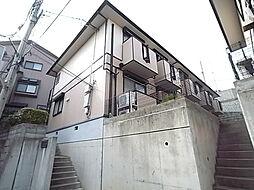 兵庫県神戸市中央区山本通4丁目の賃貸アパートの外観