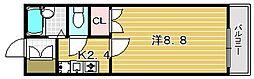 Y−POCKET[3階]の間取り