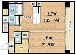 アーバンエース東心斎橋パル[3階]の間取り