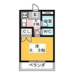 コーポMS[2階]の間取り