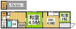 [一戸建] 京都府京都市中京区壬生森町 の賃貸【/】の間取り