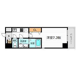 レクシア京橋DUO[11階]の間取り