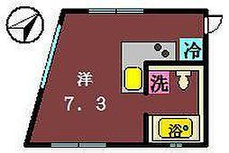 [テラスハウス] 千葉県船橋市海神1丁目 の賃貸【/】の間取り