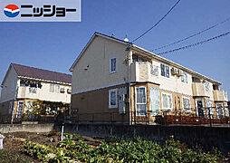 ピュアハウス A・B棟[2階]の外観