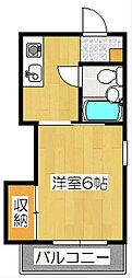 ステイ5391[3階]の間取り