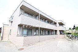 岡山県岡山市南区平福1丁目の賃貸アパートの外観