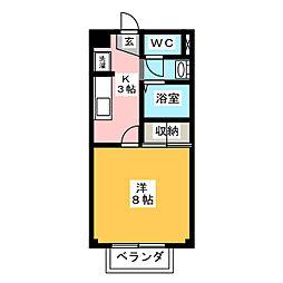 MYルームIII[2階]の間取り