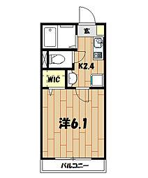 Wing湘南[3階]の間取り