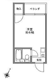 JPアパートメント港V[3階]の間取り