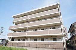 福岡県古賀市天神5丁目の賃貸マンションの外観