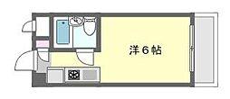 アーバン津田沼[2階]の間取り