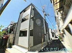 兵庫県神戸市中央区下山手通9丁目の賃貸アパートの外観